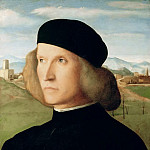 Portrait of a young man, Giovanni Bellini