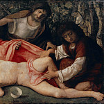 Drunkenness of Noah, Giovanni Bellini