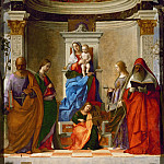 Giovanni Bellini - Saint Zechariah Altarpiece