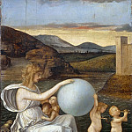 Giovanni Bellini - Four Allegories - Fortune