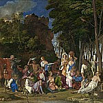 The Feast of the Gods, Giovanni Bellini