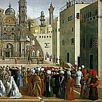 Saint Mark Preaching in Alexandria, Giovanni Bellini