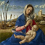 Madonna of the Meadow, Giovanni Bellini