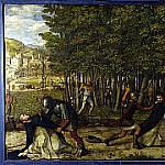 Giovanni Bellini - The Assassination of Saint Peter Martyr