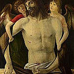 Giovanni Bellini - The Dead Christ supported by Angels