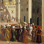 Francesco Hayez - Saint Mark Preaching in Alexandria (detail)