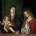 Giovanni Bellini - The Virgin with the Child between two saints