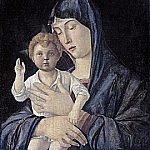 Giovanni Bellini - Madonna and Child [attributed to]