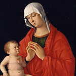 Giovanni Bellini - The virgin and child