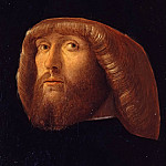 Giovanni Bellini - Portrait of a bearded man