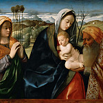 Holy conversation, Giovanni Bellini