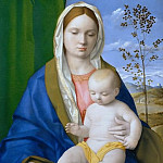 Giovanni Bellini - Madonna and child