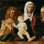 Giovanni Bellini - Virgin and Child between the Baptist and Saint Elizabeth