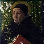 Giovanni Bellini - Saint Dominic