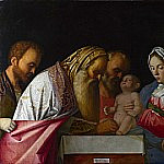 Giovanni Bellini - The Circumcision [Workshop]