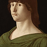 Giovanni Bellini - Portrait of a young man