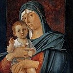 Giovanni Bellini - Virgin and Blessing Child