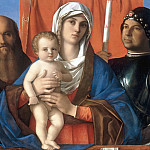 Mary with the Child between Saints Paul and George