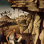 Alessandro Botticelli - Saint Jerome in the Desert