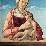 Giovanni Bellini - Madonna and Child (Madonna Frizzoni)