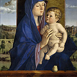 Giovanni Bellini - Madonna of the Pear