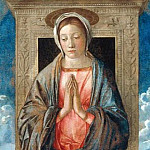 Giovanni Bellini - Enthroned Madonna and Child