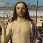 Christ Blessing, Giovanni Bellini