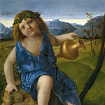 The Infant Bacchus, Giovanni Bellini