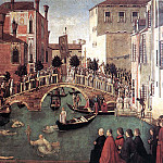Gentile Bellini - Miracle of the Cross