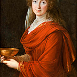 Élisabeth Louise Vigée Le Brun - Portrait of the Countess Siemontkowsky Bystry