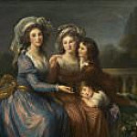 Élisabeth Louise Vigée Le Brun - The Marquise de Pezay, and the Marquise de Rouge with Her Sons Alexis and Adrien