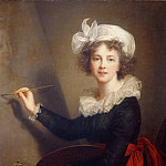 Jean Marc Nattier - Self portrait