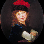 Élisabeth Louise Vigée Le Brun - Portrait of a Girl