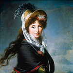 Élisabeth Louise Vigée Le Brun - Portrait of a Young Woman