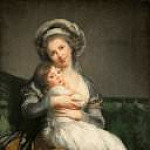 Élisabeth Louise Vigée Le Brun - Self portrait with her daughter Julie