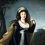Élisabeth Louise Vigée Le Brun - Portrait of Theresa, Countess Kinsky