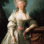 Élisabeth Louise Vigée Le Brun - Portrait of Madame du Barry