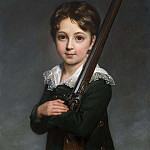 Élisabeth Louise Vigée Le Brun - Portrait of a Young Boy