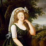 Élisabeth Louise Vigée Le Brun - Portrait of Jeanne Becu, Countess of Barry