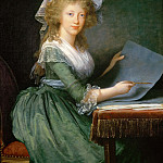 Élisabeth Louise Vigée Le Brun - Mary Louise of Bourbon, Grand Duchess of Tuscany