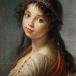 Élisabeth Louise Vigée Le Brun - Portrait of the Artists Daughter