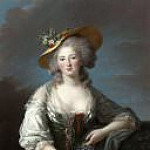 Élisabeth Louise Vigée Le Brun - Madame Elisabeth, Princess of France