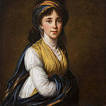 Élisabeth Louise Vigée Le Brun - Portrait of Princess Belozersky