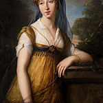 Élisabeth Louise Vigée Le Brun - Portrait of a Woman, Said to Be Anne Catherine Augier Vestris