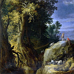 Paul Bril - Landscape with Shepherds