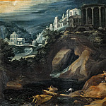 Paul Bril - Landscape with the Temple of Vesta (Workshop)