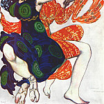 Leon Bakst - narcisse two boeotian girls 1911