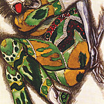 Leon Bakst - sadko the green monster 1917