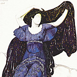 Leon Bakst - the nymph echo 1911