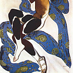 Leon Bakst - lapres-midi dun faune nijinsky-as-the-faun 1912